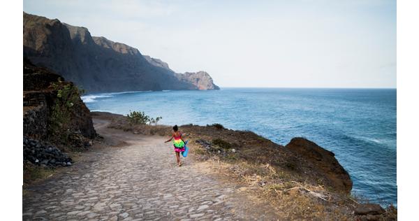 Sur le sentier côtier - Cap-Vert
