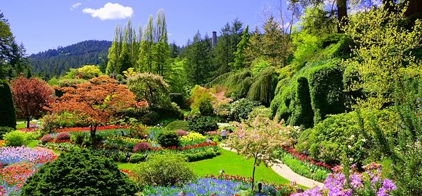 Photo Butchart Gardens