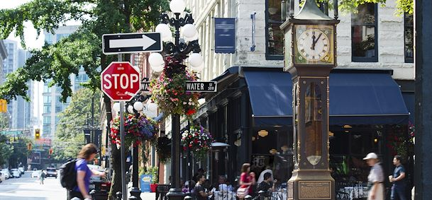 Photo Quartier de Gastown
