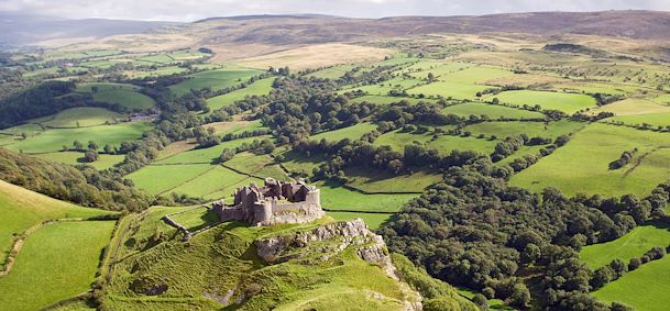Photo Carreg Cennen Castle