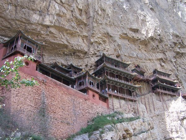 Temple suspendu - Datong - Chine - Luis Recinos