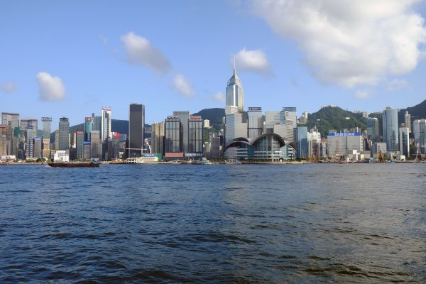 Baie de Hong Kong - Chine - Maryline Goustiaux