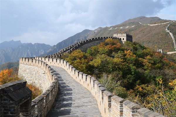 La Grande Muraille, section Mutianyu - District de Huairou - Chine - Pat on stock/fotolia.com