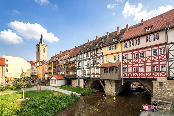 Erfurt - Thuringe - Allemagne - Pure-life-pictures/stock.adobe.com