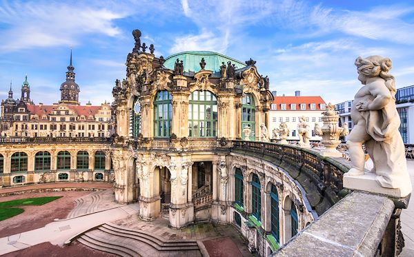 Palais Zwinger - Dresde - Saxe - Allemagne - Gatsi/stock.adobe.com
