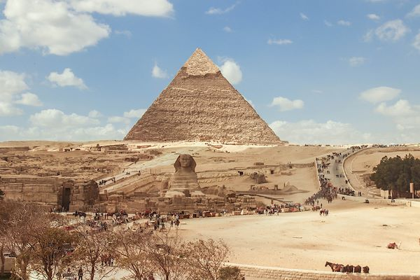 Pyramide au Caire - Egypte - Isabelle Weber