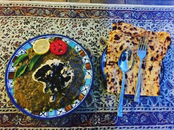 Plat traditionnel iranien - Iran - Maryline Goustiaux