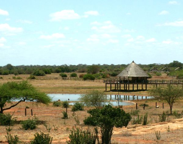 Voi Wildlife Lodge - Parc de Tsavo Est