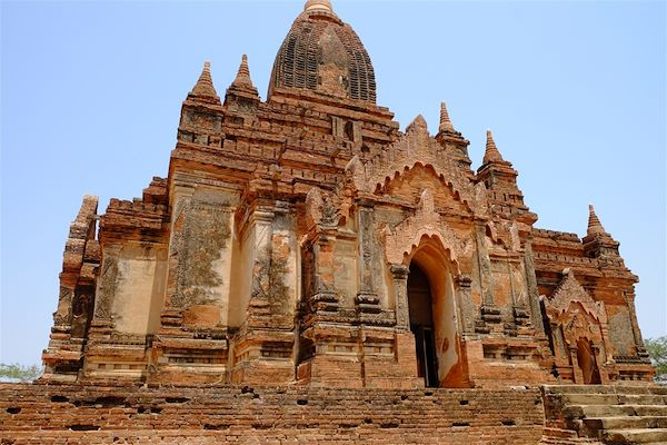 Temple bouddhiste - Bagan - Birmanie - Maryline Goustiaux