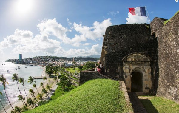 Fort Saint-Louis - Fort-de-France - Martinique - J.A. Coopman/OT Fort de France