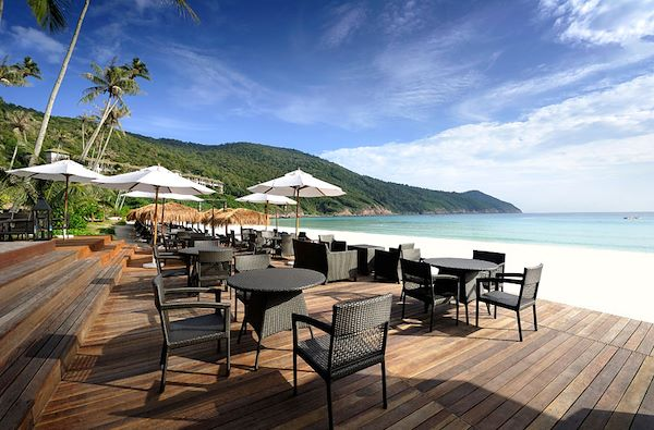 The Taaras Beach Resort - Bayu beach bar - Redang - Malaisie - The Taaras Beach Resort