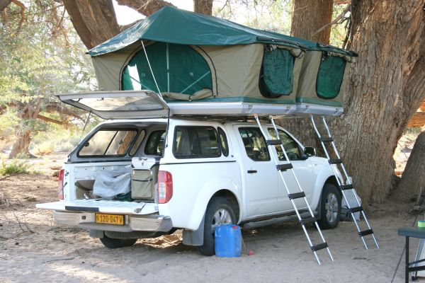 voiture 4×4 camping