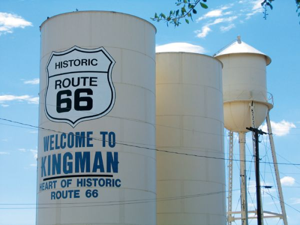 Route 66 - Kingman - Arizona - Jean Marie Douau