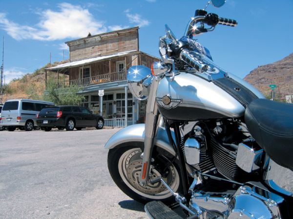 Route 66 - Oatman - Arizona - Jean Marie Douau