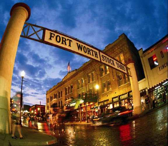 Fort Worth Stockyards - Texas - Etats-Unis - TX Images Pictures Trax Texas OT