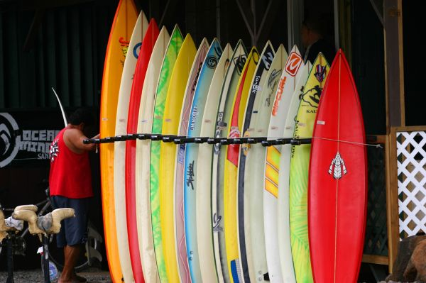 Planches de surf - Haleiwa - Oahu - Hawaï - Hawaii Tourism Authority