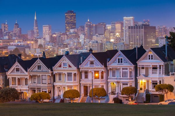 Alamo Square à San Francisco - Californie - Etats-Unis - Ton_as/fotolia.com