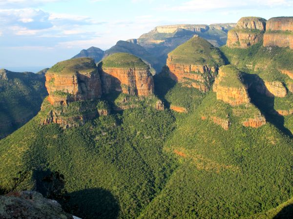 Three Rondavels - Blyde River Canyon - Drakensberg - Afrique du Sud - Anne-Marie Duffoux
