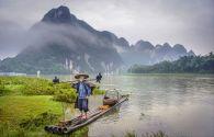 Pics célestes à l'encre de Chine - Chine -