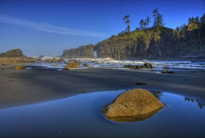 Kalaloch - Olympic National Park - Etat de Washington - Etats-Unis - Aramark