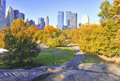 Central Park à Manhattan - New York - Etats-Unis - Robert Cicchetti/fotolia.com