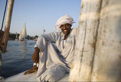 Navigation sur le Nil, Assouan - Egypte - Jon Arnold Images/hemis.fr