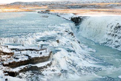 Chutes d'eau de Gullfoss - région de Vesturland - Islande - Jelle van der Wolf/fotolia.com