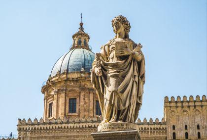 Cathédrale de Palerme - Sicile - Italie - BlackMac/Stock.adobe.com