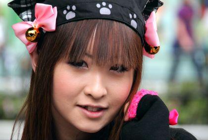 Portrait de femme japonaise - Maryline Goustiaux