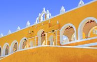 Couvent franciscain de San Antonio de Padua - Izamal - Yucatan- Mexique - Photlook/fotolia.com