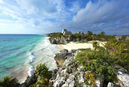 Site archéologique Maya de Tulum - Mexique - B. Morandi/hemis.fr