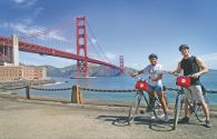 Le Golden Gate Bridge à vélo et Sausalito - San Francisco - Califun, Benoit Cerceau