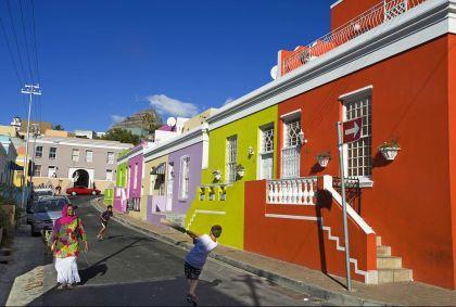 Quartier malais de Bo Kaap - Le Cap - Région du Cap-Occidental - Afrique du Sud - Patrick Frilet / hemis.fr