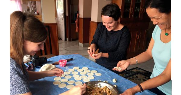 Cours de cuisine chez Danzee à Katmandou - Népal
