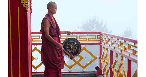 Monastère à Namo Buddha - Vallée de Katmandou – Népal