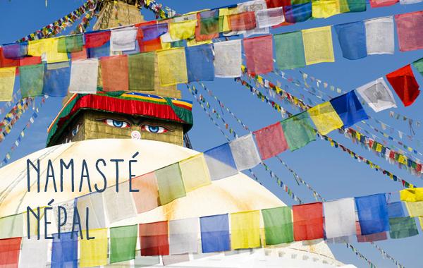 Stupa de Bodnath dans la vallée de Katmandou