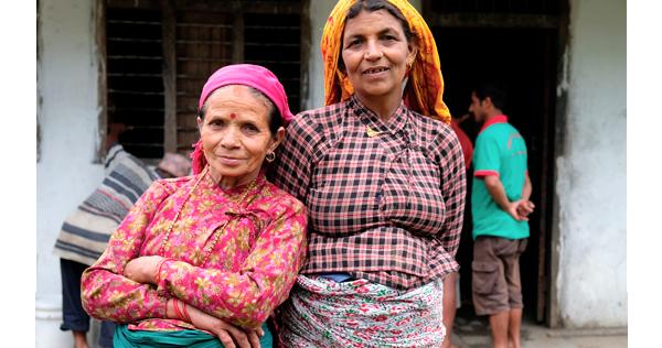 Villageoises de Ghachok, district de Kaski – Népal