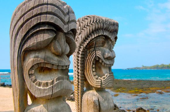 Tikis - Big Island – Hawaï