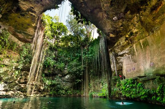 Cenote de Ik-Kil - Etat du Yucatan – Mexique