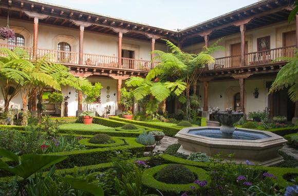 Hôtel El Palacio de Dona Leonor à Antigua – Guatemala
