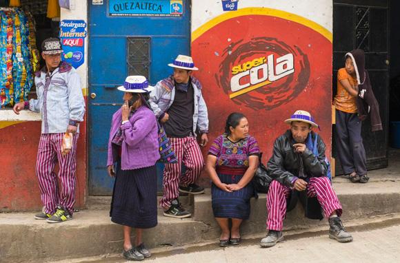 Villade de Todos Santos Cuchumatan, Guatemala