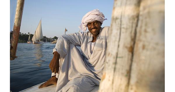 Sur le pont de la dahabieh – Egypte