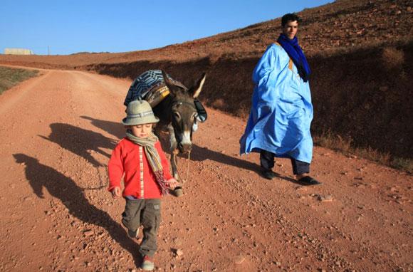 Dans les environs de Mirleft – Maroc