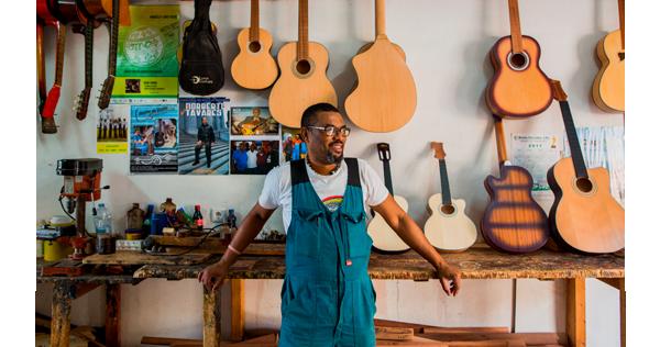 Sur un accord de guitare  - Cap-Vert