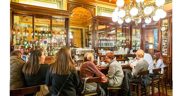 Le café patisserie Demel dans le centre historique de Vienne – Autriche