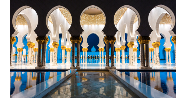 Mosquée Sheikh Zayed à Abu Dhabi – Emirats Arabes Unis