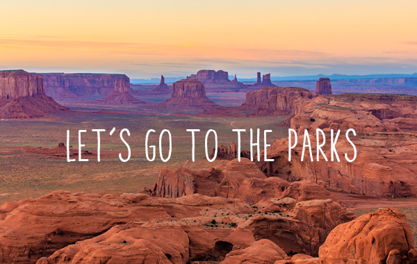 Let's go to the parks